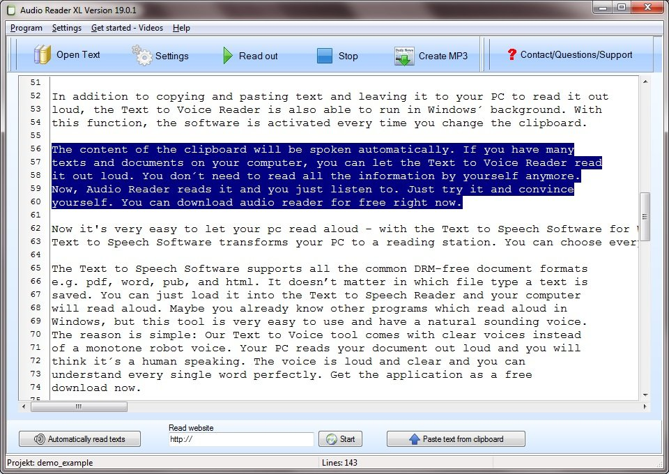 Read Out Texts Made Simple with the Nice New TTS Reader